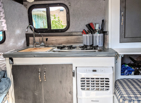 Look inside a 10' Scamp