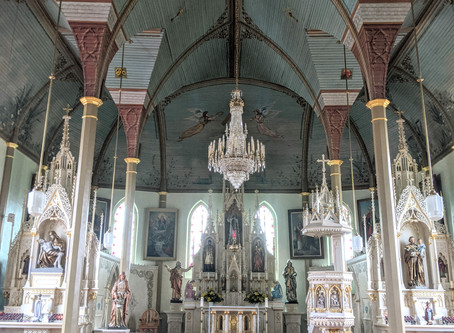 Painted Churches in Texas
