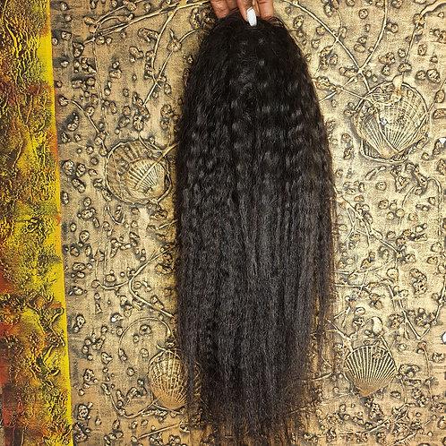 """20"""" kinky straight ponytail nalela hair nairobi kenya"""