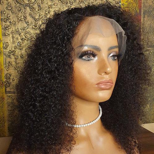 """20"""" kinky curly lace front wig Nalela hair Nairobi Kenya"""