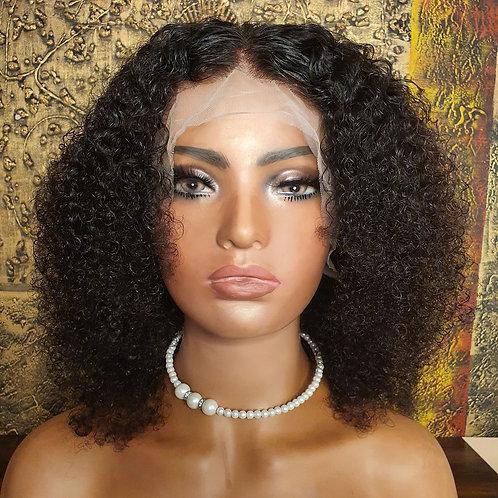 "16"" lace front kinky afro wig Nalela hair Nairobi Kenya"