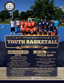 2nd Annual Youth Basketball Tournament F