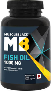 Product Review | Muscle Blaze Omega 3 Fish Oil 1000 mg