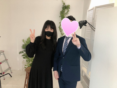 大阪から嬉しいご報告、昨日のX デーにプロポーズ成功!