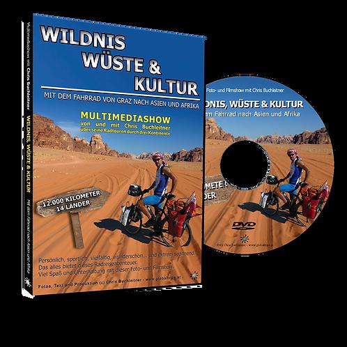 Wildnis, Wüste und Kultur - mit dem Rad nach Asien und Afrika