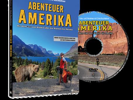 """DVD und USB Stick """"Abenteuer Amerika - mit dem Rad von Alaska über die Rockies bis Mexiko"""""""