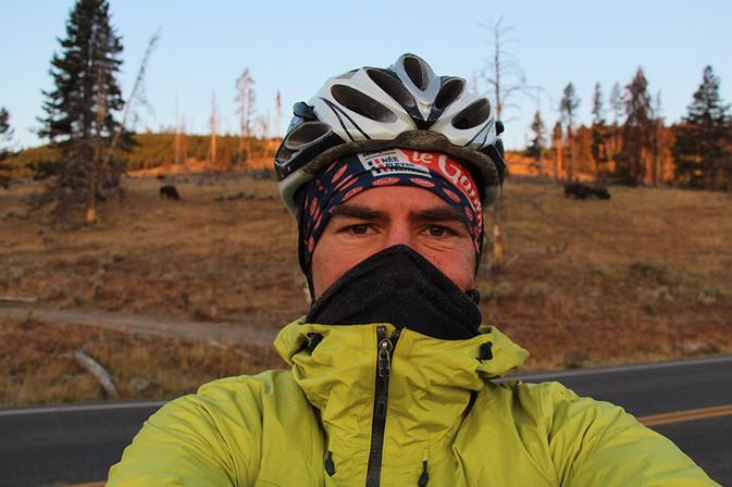 Yellowstone morning freezing