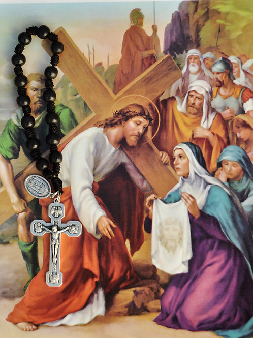 Stations of the Cross Ultimate Chaplet with Holy Face Medal