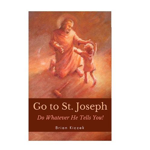 """Go to Saint Joseph"" Book"