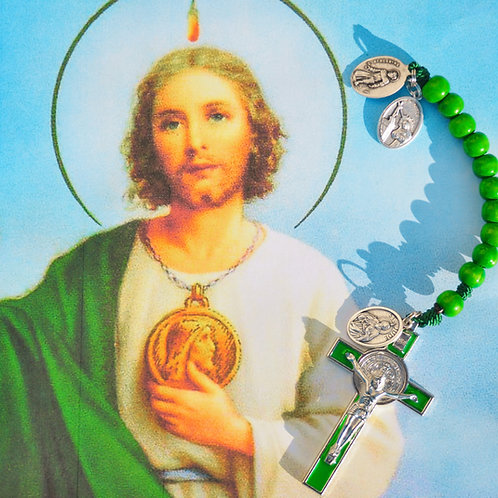 Saint Jude's Ultimate Decade Rosary for Impossible Cases and to Crush Cancer