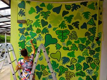 CH Merlin Inn Mural