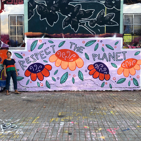 Respect the Planet Mural