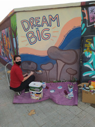 Dream Big Mural