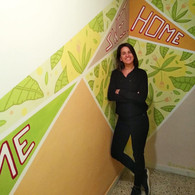 Home Sweet Home Mural
