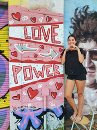 Love Power Mural