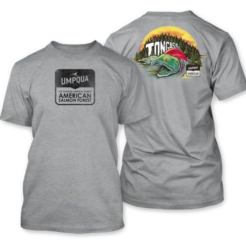 Tongass Alive Tee Gray