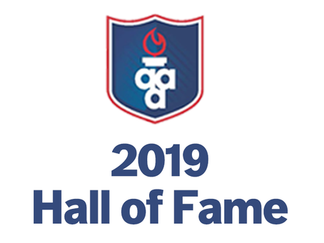 2019 Hall of Fame Released