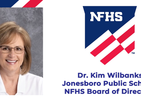 Dr. Kim Wilbanks named to NFHS Board of Directors