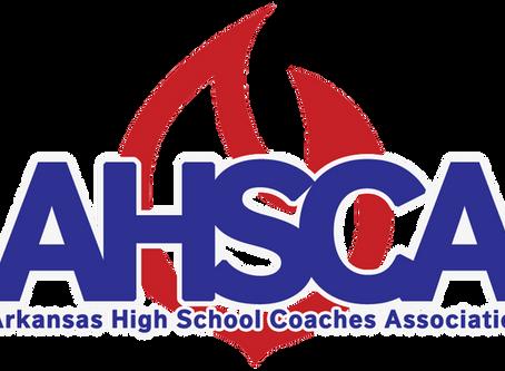 ARKANSAS HIGH SCHOOL COACHES ASSOCIATION OUTSTANDING COACHES 2019-2020