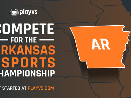 OVER 240 HIGH SCHOOLS ON PLAYVS WAITLIST AS ARKANSAS PREPARES FOR ITS SECOND YEAR OF VARSITY ESPORTS