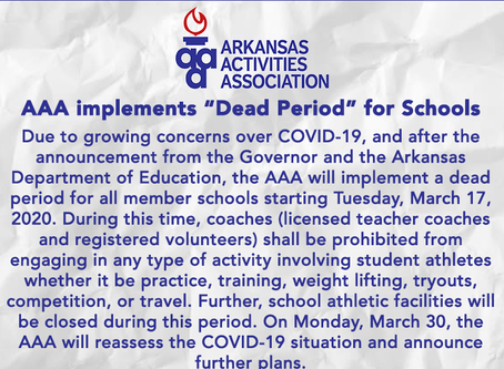 """AAA implements """"Dead Period"""" for Schools"""