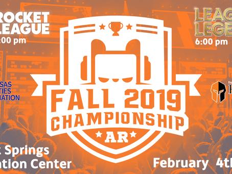 Fall 2019 Esports Championships