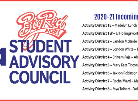 2020-2021 Incoming Big Red Student Advisory Council