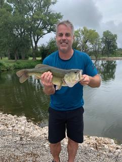 Kansas Farm Pond