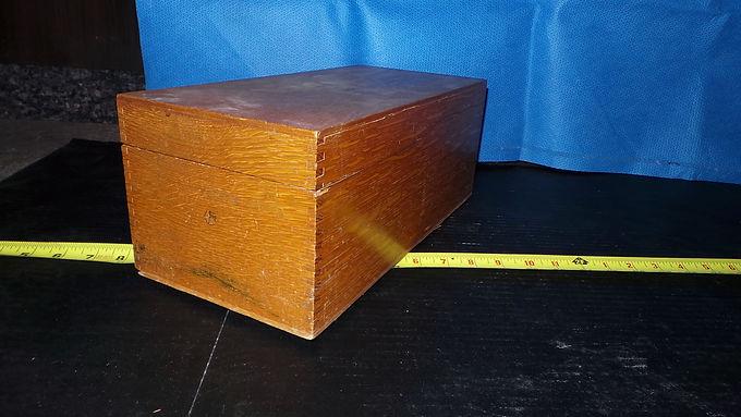 Globe Wernicke Card File Box