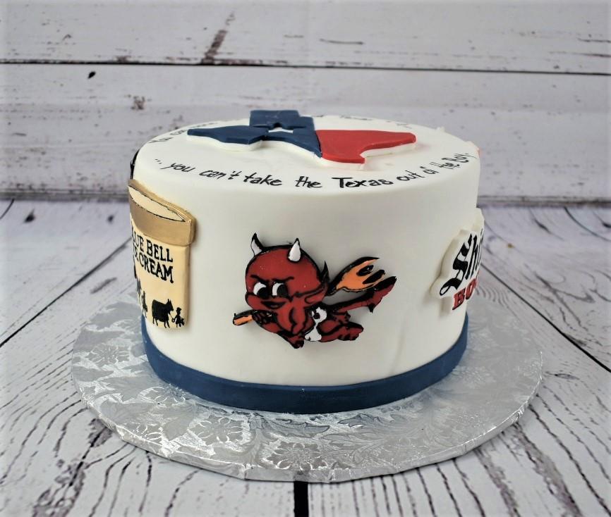 Home Sweet Home Birthday Cake
