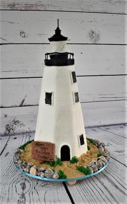 Lighthouse Birthday Cake