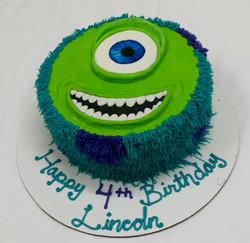 Monsters Inc Birthday Cake