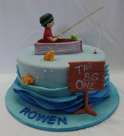 The Big One Birthday Cake