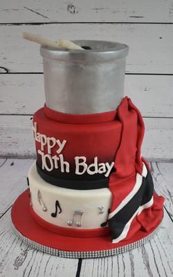 Trinidad Birthday Cake