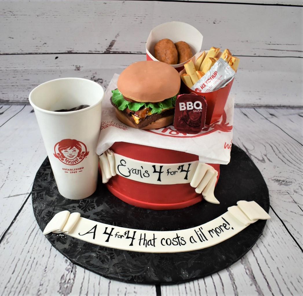 Wendy's Birthday Cake