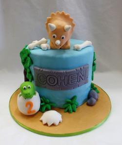 Dinosuar Birthday Cake
