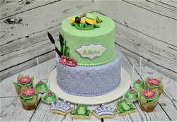 Princess & the Frog Baby Shower Cake