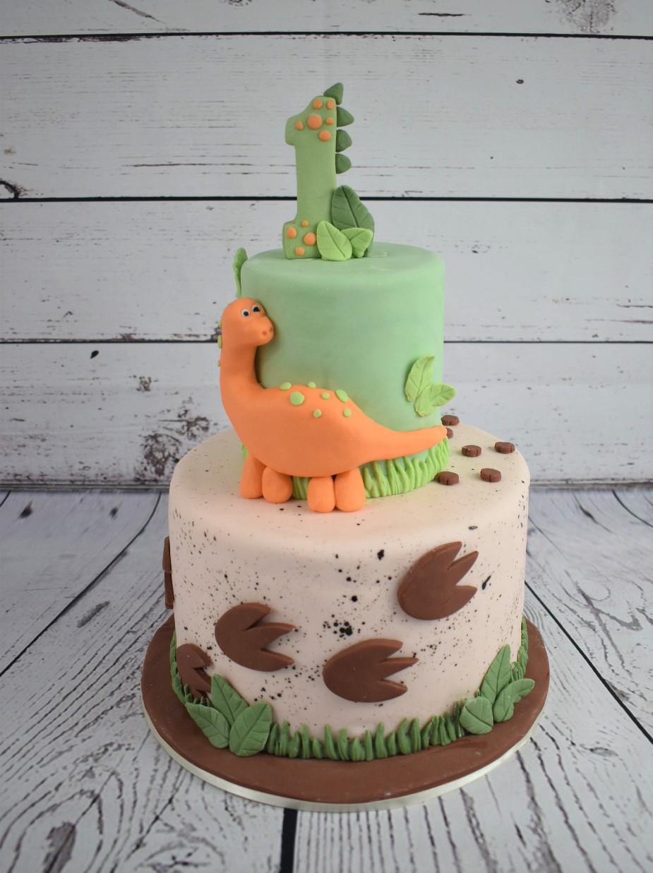Dinosuare Birthday Cake