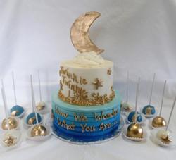 Twinkle Twinkle Baby Shower Cake Pop