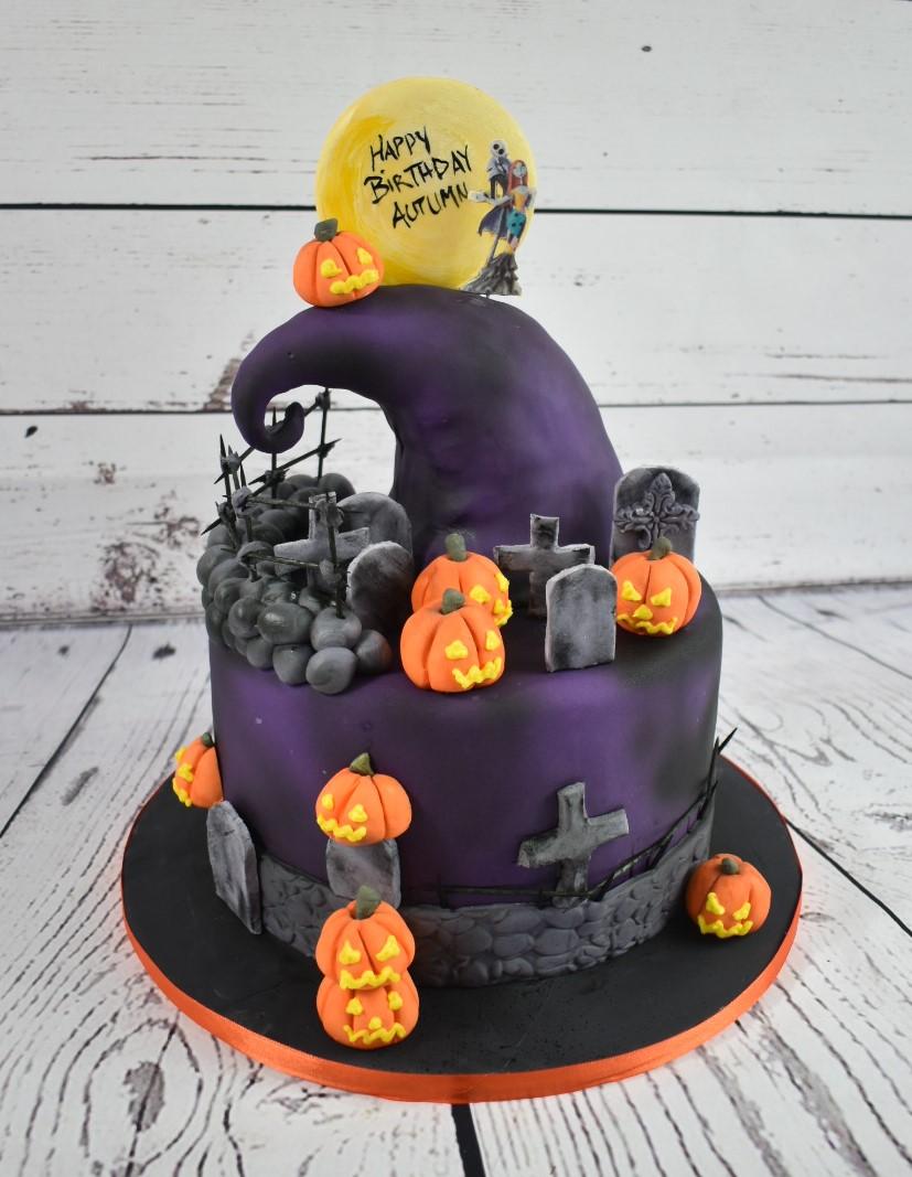Nightmare Birthday Cake