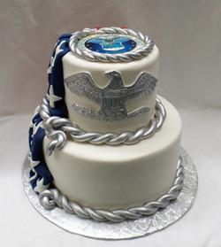 Colonel Retirement Cake