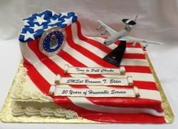 AF Retirement Cake