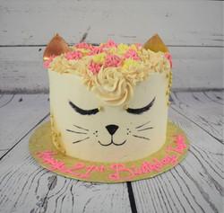 Cat Birthday Cake