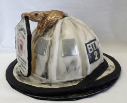Firefighter Retirement Cake