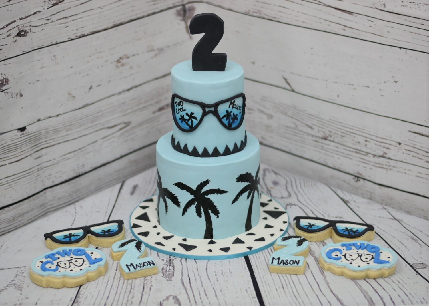 2 Cool Birthday Cake