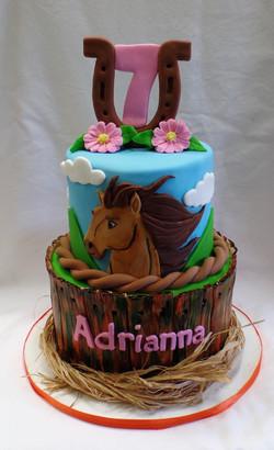 Spirit Birthday Cake