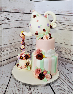 High Tea Birthday Cake