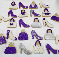 Shoes and Purses Cookies