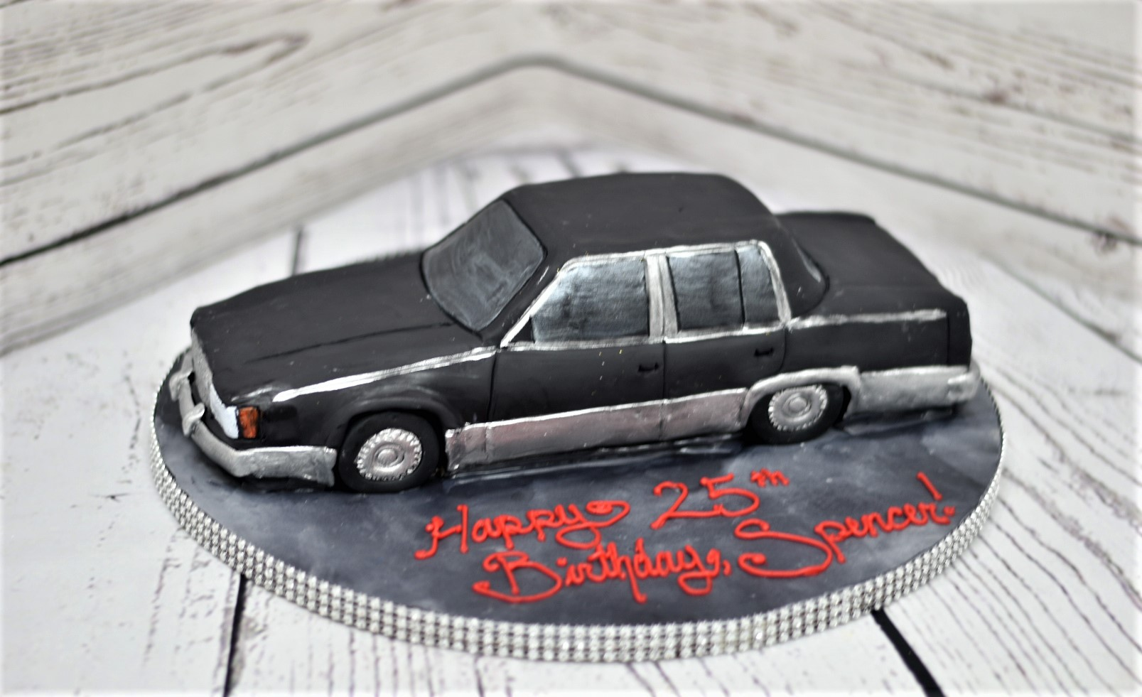 Cadillac Birthday Cake