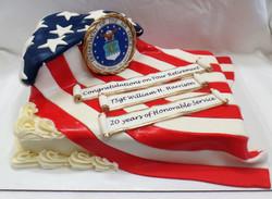 Air Force Retirement Cake